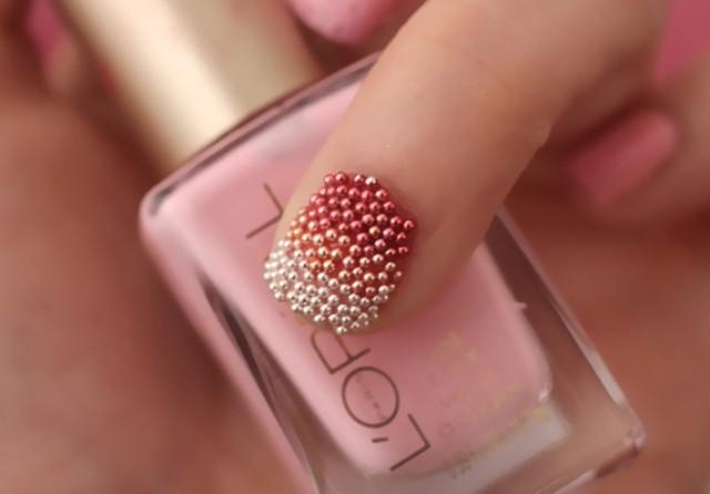 uñas de caviar